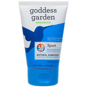Goddess Garden - Sport Sunscreen SPF 50 Tube