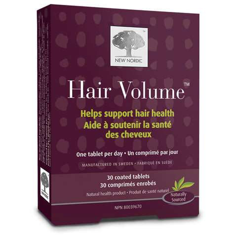 New Nordic Hair Volume by New Nordic - Ebambu.ca natural health product store - free shipping <59$