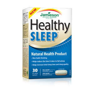 Jamieson Healthy Sleep 30 caps by Jamieson - Ebambu.ca natural health product store - free shipping <59$