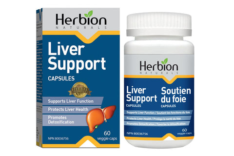 Herbion - Liver Support - 60 Vcaps by Herbion - Ebambu.ca natural health product store - free shipping <59$