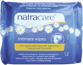 Natracare Intimate Wipes by Natracare - Ebambu.ca natural health product store - free shipping <59$