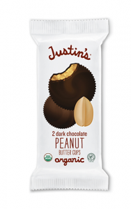 Justins´s - Dark Chocolate Peanut Butter Cups 40 g - Ebambu.ca free delivery >59$