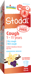 Boiron Stodal Child Sugar Free cough syrup 125ml