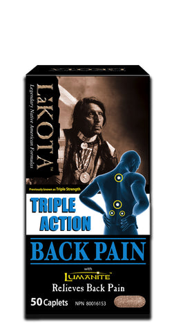 Lakota Triple Strength Back Pain by Lakota - Ebambu.ca natural health product store - free shipping <59$