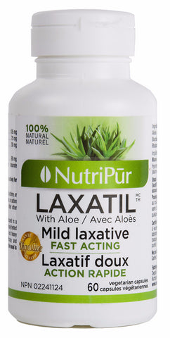 Nutripur Laxatil - 60 caps by Nutripur - Ebambu.ca natural health product store - free shipping <59$