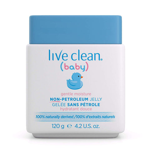 Live Clean - Gentle Moisture Non Petroleum Jelly 120 g - Ebambu.ca free delivery >59$