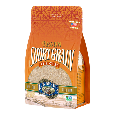 Lundberg Family Farms - Brown Rice Short Grain - Ebambu.ca free delivery >59$