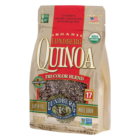 Lundberg Family Farms - Organic Quinoa Tri-Color Blend 454 g - Ebambu.ca free delivery >59$