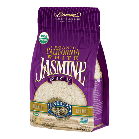 Lundberg Family Farms - California White Jasmine Rice 907g by Lundberg Family Farms - Ebambu.ca natural health product store - free shipping <59$