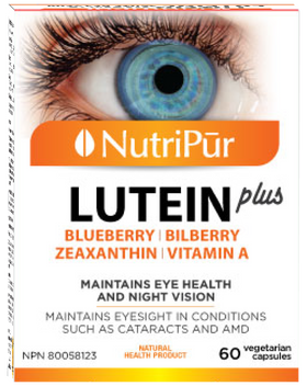 Nutripur Lutein Plus - 60 caps