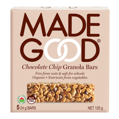 MadeGood - Chocolate Chips granola bars