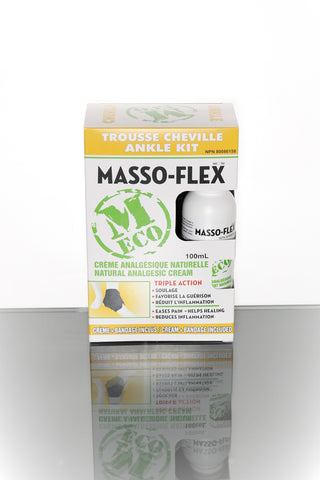 Masso-Flex - Ankle Eco Kit 100 ml - Ebambu.ca free delivery >59$