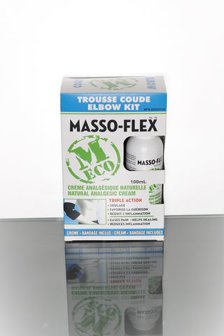 Masso-Flex - Elbow Eco Kit 100 ml - Ebambu.ca free delivery >59$