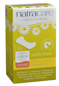 Natracare Panty Liners Curved by Natracare - Ebambu.ca natural health product store - free shipping <59$
