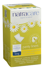 Natracare Panty Liners by Natracare - Ebambu.ca natural health product store - free shipping <59$