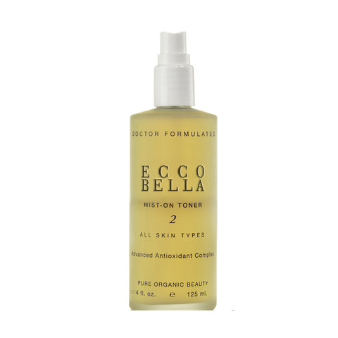 Ecco Bella Natural Mist-On Toner and Vitamin Spray by Ecco Bella - Ebambu.ca natural health product store - free shipping <59$