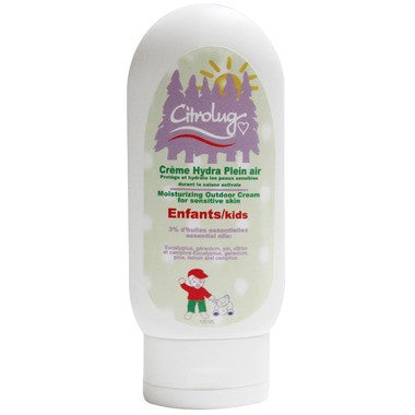 Citrobug Moisturizing Outdoor Cream for Kids 120 ml by Citrobug - Ebambu.ca natural health product store - free shipping <59$