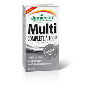 Jamieson Multivitamin 100% Complete Adults 50+ _ 90 caplets