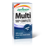 Jamieson Multivitamin 100% Complete for Men 50+ 90 caplets