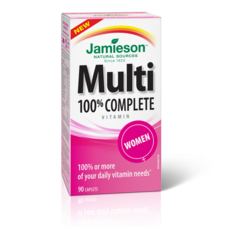 Jamieson Multivitamin 100% Complete for Women - 90 caplets