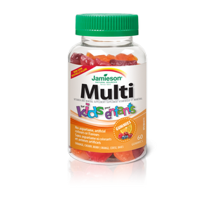 Jamieson Multivitamins Gummie for Kids 60 gummies by Jamieson - Ebambu.ca natural health product store - free shipping <59$