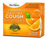 Herbion Natural Sugar Free Cough Lozenges - 18 lozenges by Herbion - Ebambu.ca natural health product store - free shipping <59$