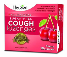 Herbion Natural Sugar Free Cough Lozenges - 18 lozenges