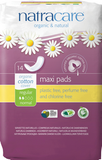 Natracare Natural Maxi Pad by Natracare - Ebambu.ca natural health product store - free shipping <59$