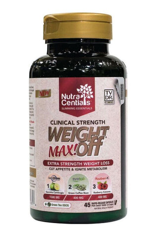 Nutracentials Weight Off Max by Nutracentials - Ebambu.ca natural health product store - free shipping <59$