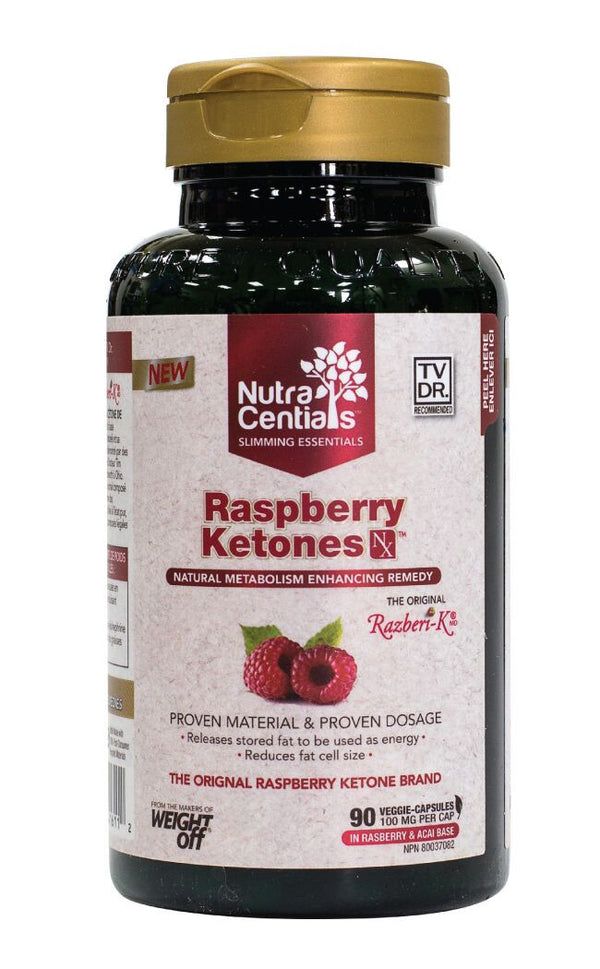 Nutracentials Raspberry Ketones NX by Nutracentials - Ebambu.ca natural health product store - free shipping <59$