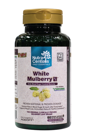 Nutracentials White Mulberry NX by Nutracentials - Ebambu.ca natural health product store - free shipping <59$