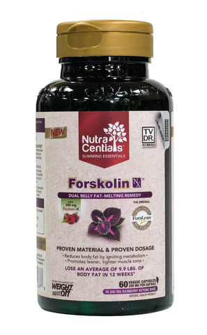 Nutracentials Forskolin NX by Nutracentials - Ebambu.ca natural health product store - free shipping <59$