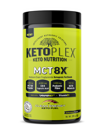 Nuvocare - KetoPlex MCT 8X 265 g by Nuvocare - Ebambu.ca natural health product store - free shipping <59$