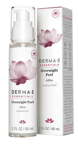 Derma e - Overnight Peel by Derma e - Ebambu.ca natural health product store - free shipping <59$