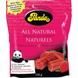Panda - All Natural Raspberry Licorice 170g by Panda - Ebambu.ca natural health product store - free shipping <59$