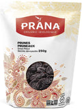 Prana - Organic Pitted Prunes 250 g - Ebambu.ca free delivery >59$