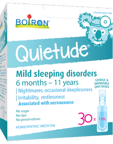 Boiron Quietude Restlessness 30 doses of 1 ml