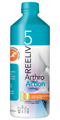 Reeliv5 Arthro Action Liquid by Reeliv5 - Ebambu.ca natural health product store - free shipping 59$