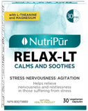Nutripur Relax LT-30 caps by Nutripur - Ebambu.ca natural health product store - free shipping <59$