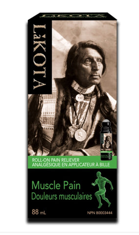 Lakota Muscle Pain Roll On by Lakota - Ebambu.ca natural health product store - free shipping <59$
