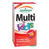 Jamieson Multivitamins for Kids with Iron 60 chewable tablets
