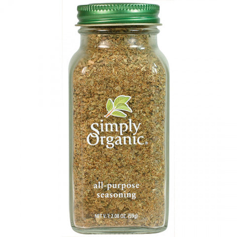 Simply Organic - All-Purpose Seasoning 59 g - Ebambu.ca free delivery >59$
