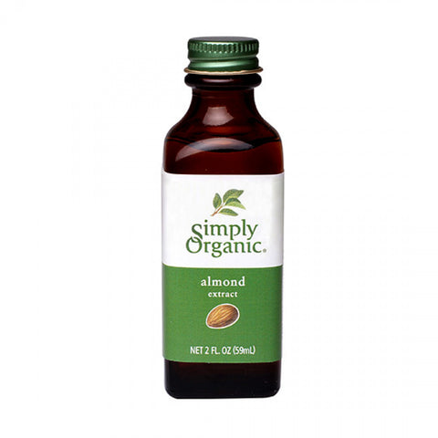 Simply Organic - Almond Extract 59 ml - Ebambu.ca free delivery >59$