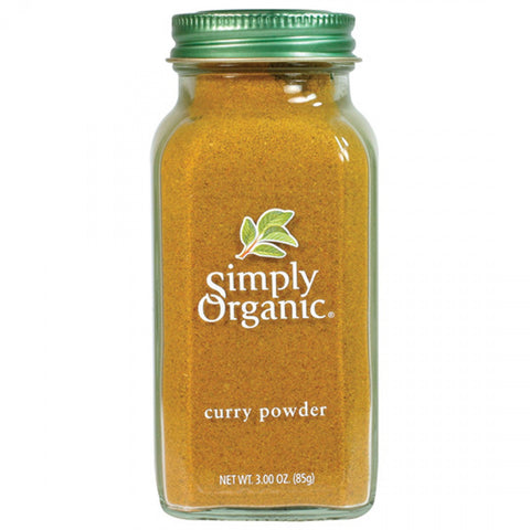 Simply Organic - Curry Powder 85 g - Ebambu.ca free delivery >59$