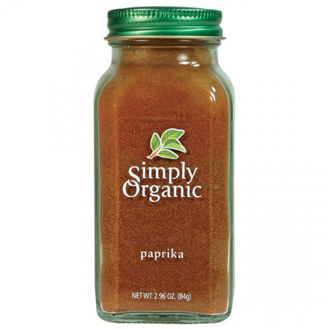 Simply Organic - Ground Paprika 84 g - Ebambu.ca free delivery >59$