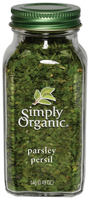 Simply Organic - Parsley 14 g - Ebambu.ca free delivery >59$
