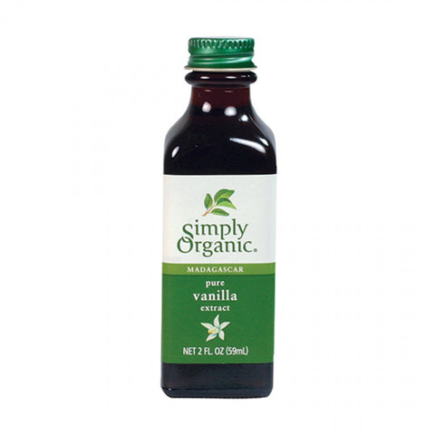 Simply Organic - Pure Vanilla Extract 59 ml - Ebambu.ca free delivery >59$