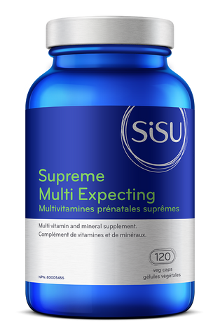 Sisu - Supreme Multi Expecting 120 gel caps - Ebambu.ca free delivery >59$