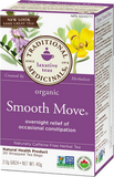 Traditional Medicinals Organic Smooth Move 20 bags by Traditional Medicinals - Ebambu.ca natural health product store - free shipping <59$