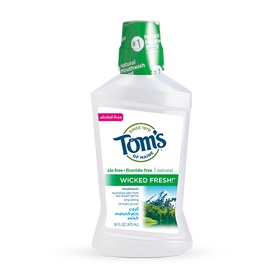 Tom's of Maine - Wicked Fresh Mouthwash - Cool Mountain Mint